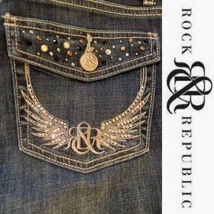 Rock & Republic (Kasandra) Kohl's Jeans - Size 8